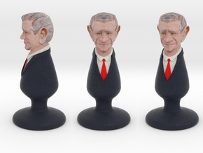 George W Bush plug in Full Color Sandstone