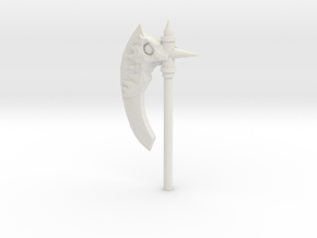 Daemonic Axe 04 Large in White Strong & Flexible