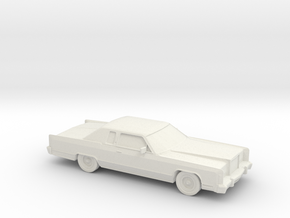 1/87 1978 Lincoln Continental Coupe in White Strong & Flexible