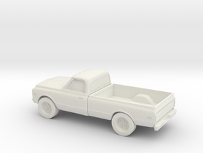 1/87  1972 Chevrolet K-Series PU in White Strong & Flexible