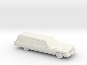 1975 Cadillac  Hearse in White Strong & Flexible