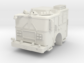1/87 HO FDNY Like Seagrave MII Marauder Cab in White Strong & Flexible