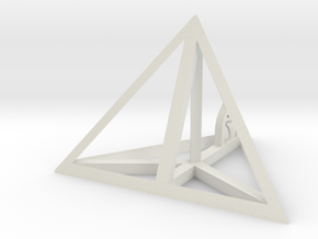 Tetrahedron in White Strong & Flexible