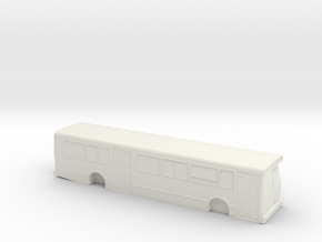 HO scale orion v bus in White Strong & Flexible