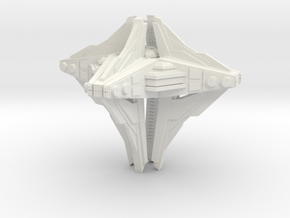 Alien mothership concept in White Strong & Flexible