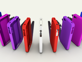 iPhone 4 Case in Purple Strong & Flexible Polished