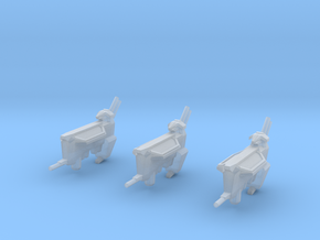 Kushan Matriarch Support Frigates (3) (Variant) in Frosted Ultra Detail