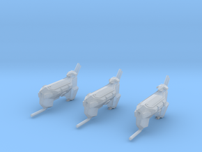 """Kushan """"Firelance"""" Ion Cannon Frigates(3)(Variant) in Frosted Ultra Detail"""