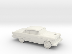 1/87 1955 Chevrolet Bel Air  in White Strong & Flexible
