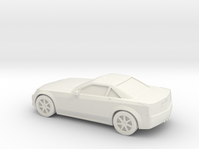 1/87 2004-09 Cadillac XLR in White Strong & Flexible