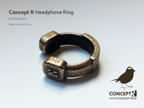 Concept R Headphone Ring in Stainless Steel