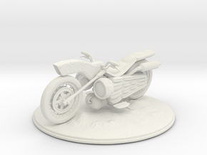 Object of Bike Lv2 in White Strong & Flexible