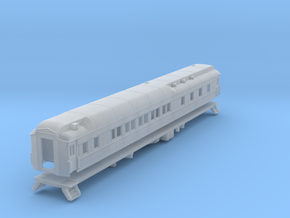 Pullman 10-1-2 sleeping car, plan 3585 (1/160) in Frosted Ultra Detail