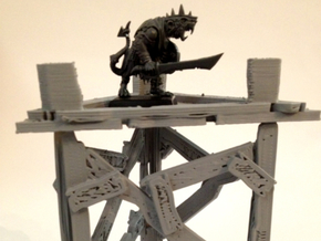 Savage Watchtower 28mm in White Strong & Flexible