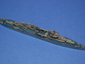 USS Indianapolis 1/1800 in White Strong & Flexible