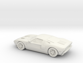 1/87 2004-06 Ford GT in White Strong & Flexible