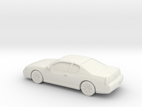 1/87 2003 Chevrolet Monte Carlo in White Strong & Flexible