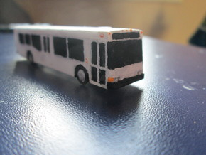 n scale nabi 40-lfw bus in White Strong & Flexible