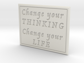 Change your thinking in White Strong & Flexible