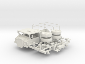 Chevrolet CMP C15A Cab No.13 GS(1:20 Scale) in White Strong & Flexible