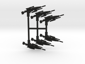 Plasma Sniper Rifle Pack in Black Strong & Flexible
