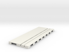 P-65stp-straight-road-110-100-pl-1a in White Strong & Flexible