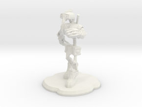 Steampunk Figure in White Strong & Flexible