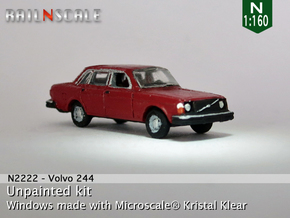 Volvo 244 DL (N 1:160) in Frosted Ultra Detail