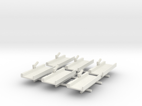 Floating Drydock x6 in White Strong & Flexible