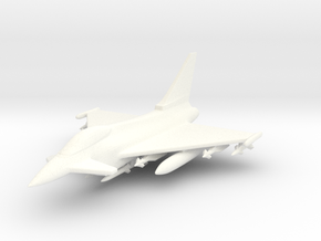 1/285 (6mm) Eurofighter Typhoon Ordnance II in White Strong & Flexible Polished