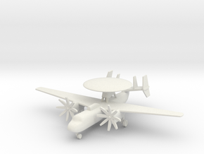 1/285 (6mm) E-2 Hawkeye  in White Strong & Flexible