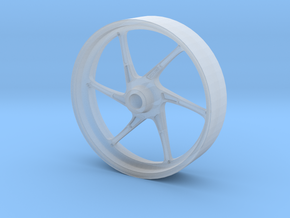 OZ CATTIVA DUCATI SBK FRONT WHEEL FOR TAMIYA 1:12 in Frosted Ultra Detail