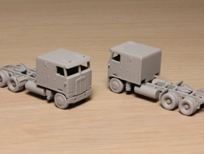 1:160 N Scale Kenworth K100 Tractor X2 in Frosted Ultra Detail