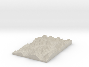 Model of Trinity Stream in Sandstone