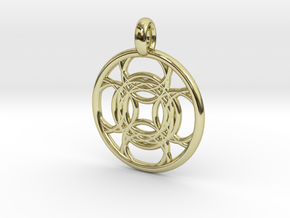 Kallichore pendant in 18K Gold Plated