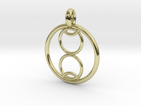 Kalyke pendant in 18K Gold Plated