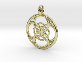 Chaldene pendant in 18K Gold Plated