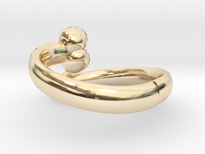 The D Ring - Sz.10 in 14K Gold