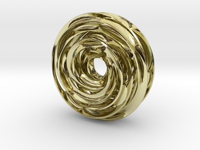 Cinquefoil Knot in 18K Gold Plated