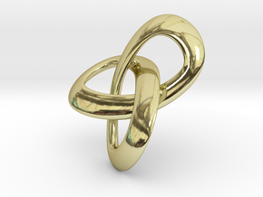 Trioloop.s.flat in 18K Gold Plated