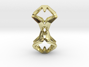 """""""head to head, heart to heart"""" TIMELESS, pendant in 18K Gold Plated"""