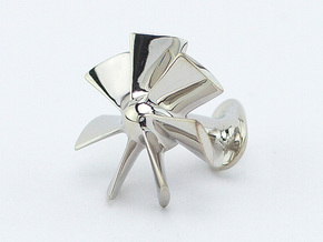 Style Fans Cufflinks in Rhodium Plated