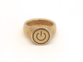 Power Ring in Stainless Steel