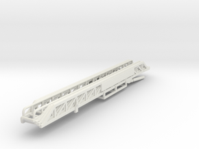 Vehicle-021-fire-truck-ladder (repaired) in White Strong & Flexible