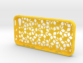 Penrose Asym Iphone 5c in Yellow Strong & Flexible Polished