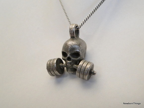 Pendant V14 - The invincible Skull in Stainless Steel