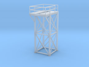 'N Scale' - 8 Ft x 8 Ft x 20 Ft Tower Top in Frosted Ultra Detail
