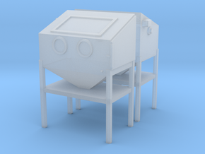 1/64 Sand Blasting Cabinet 2 Pack in Frosted Ultra Detail