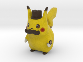 Pokemon - Gentleman Pikachu in Full Color Sandstone