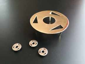 Pin in Polished Brass